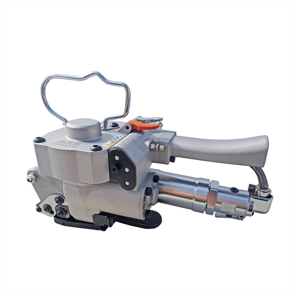 the sensitivity of a19 pneumatic packing machine hand buckle free pet strap pp automatic strapping machine packing belt hot melt A19 Pneumatic Baler Free Buckle PET Baler Plastic Belt Plastic Steel Belt Baler Strapping Machine