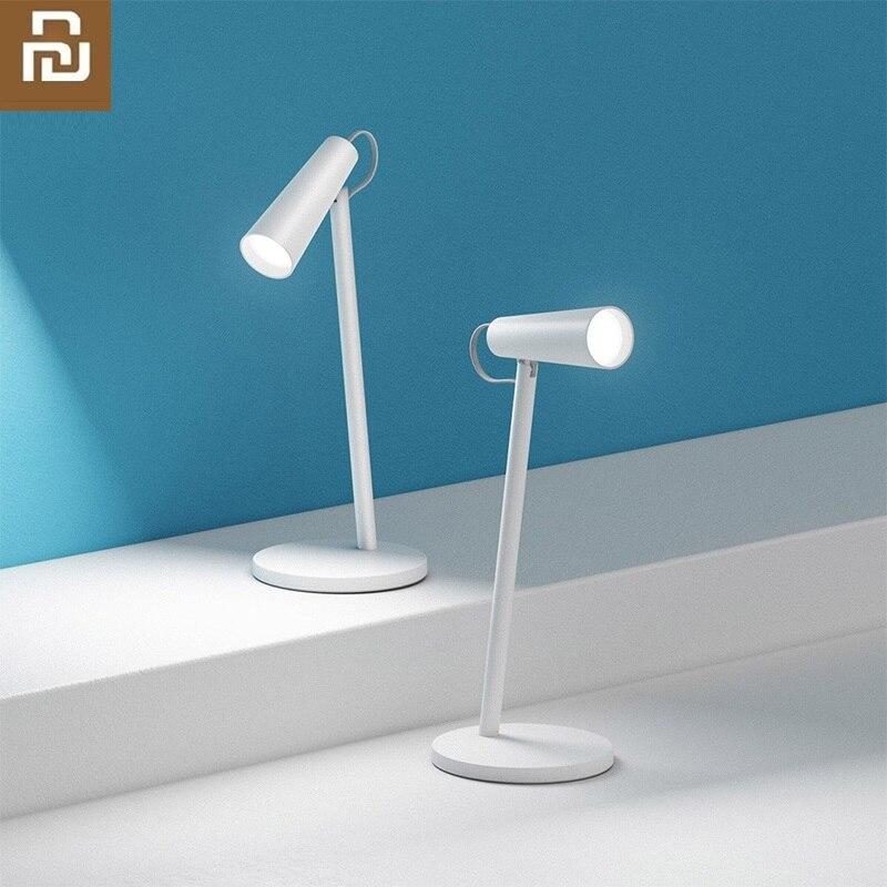 Youpin mi led inteligente lâmpadas de mesa estudo lâmpada leitura escritório candeeiros mesa cabeceira portátil luz da noite usb recarregável