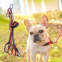 pet dog leash dog collar dog sling comfortable nylon adjustable training rope leash chain pet supplies