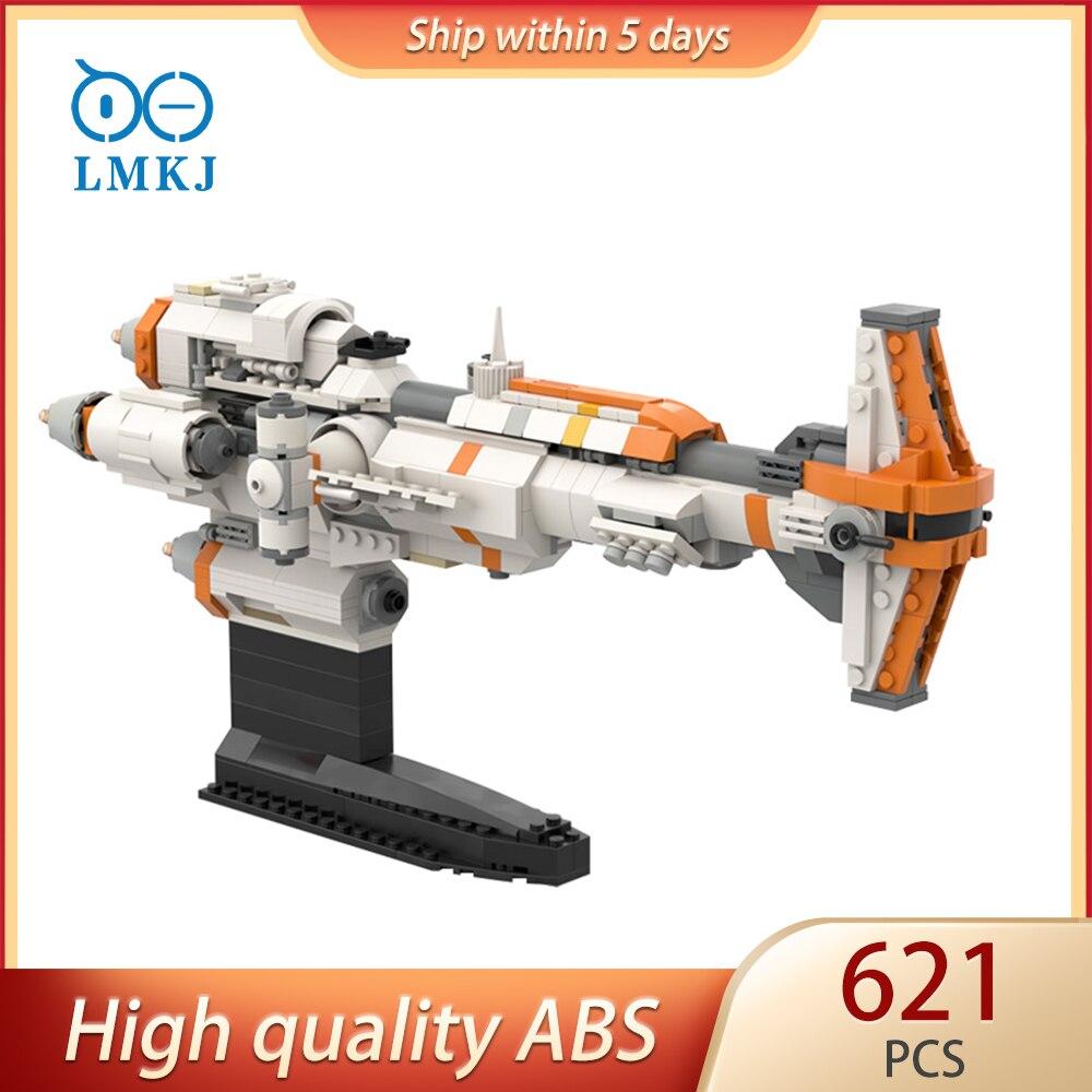 621 stücke Stern Raum Wars Serie MOC-57178 Hammerhead Schlacht Modell Technik Bausteine Modulare Dricks kinder Diy Spielzeug Geschenke