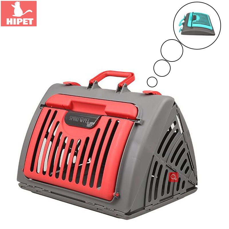 HI Gato caja de Estuche de transporte Gato jaula de transporte al aire libre, bolsa de viaje portátil y transpirable, Bolso pequeño para perro, bolsa de transporte para gatos y gatitos