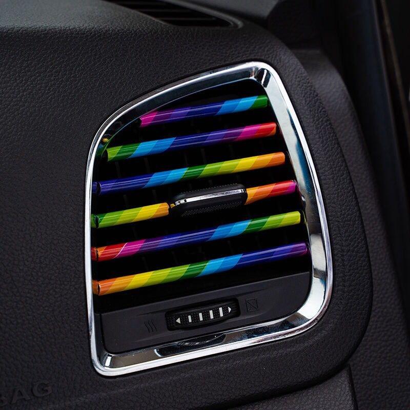 10 Uds moldura de automóvil de 20cm Accesorios del coche Interior de...