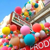 10 36inch babys birthday party decoration balloon color candy balloon advanced matte latex helium balloon wedding decoration