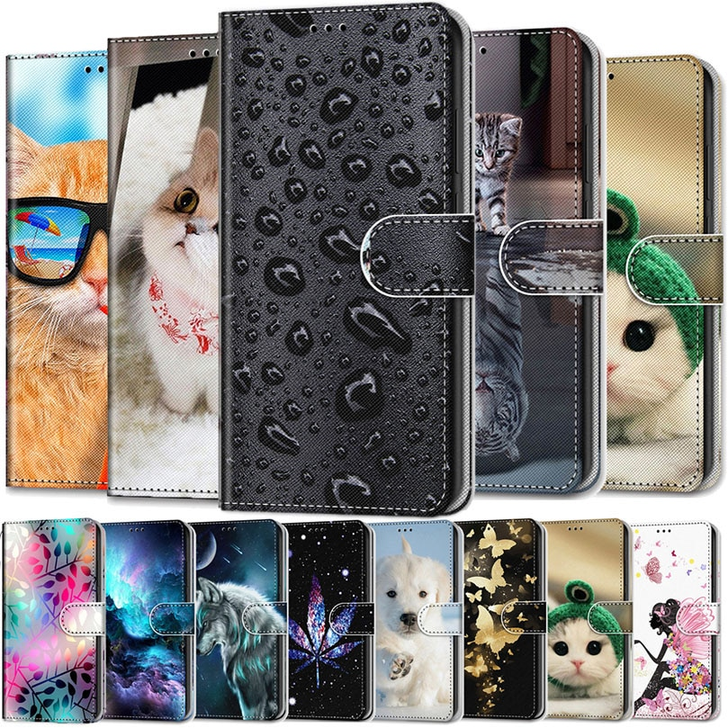 Leather Case For Nokia 1 2.1 2.2 3 3.1 4.2 5 5.1 6.1 Plus Phone Case Fundas 3D Wallet Card Holder St