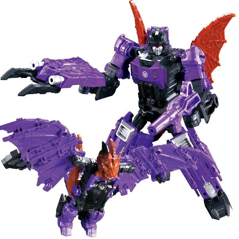 WJ-figura de acción transformable G1 Headmasters, juguete Mindwipe Weirdwolf, cabeza dura, roedome, Brainstorm, Robot de deformación