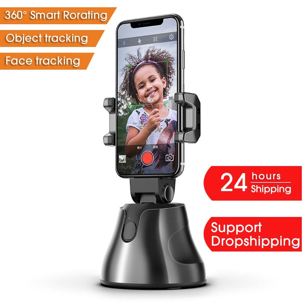 Apai Genie-عصا سيلفي ذكية ، دوران 360 درجة ، حامل هاتف ، كاميرا تتبع الوجه ، الكل في واحد