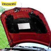 for bmw 3 series e90 2006 2012 car heat sound insulation cotton front hood engine firewall cover noise deadener accessories