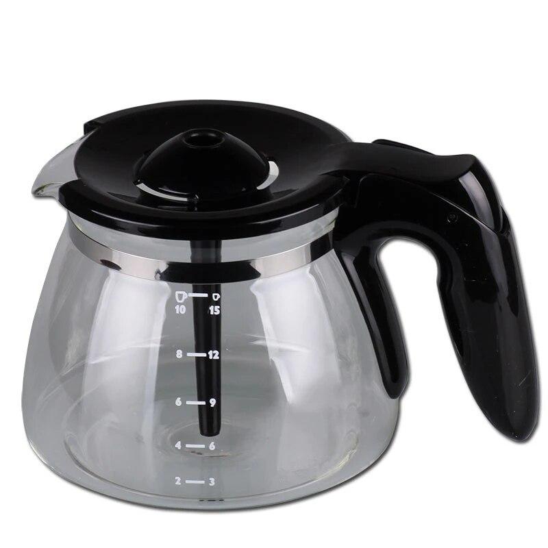 قطع غيار صانع القهوة, إبريق زجاجي لصانعة القهوة فيليبس HD7447 HD7457 HD7461 HD7462