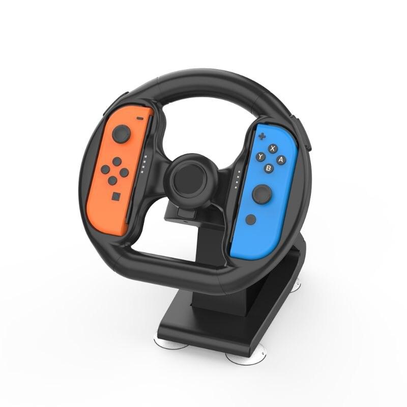 1 Juego de base de soporte de juego de carreras de volante de varios ejes para palanca de mando Q39D