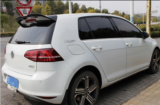 MK7 Rear Roof Spoiler for Volkswagen VW Golf 7 MK75 VII GTI R Rline Spoiler 2014-2019 High Quality ABS Piano Black boot Wings