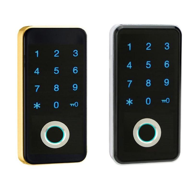 E7CC الذكية بصمة إصبع رقمية تعمل باللمس رمز قفل بكلمة مرور الأمن مكافحة سرقة خزانة خزانة حافظة ملفات تحسين المنزل