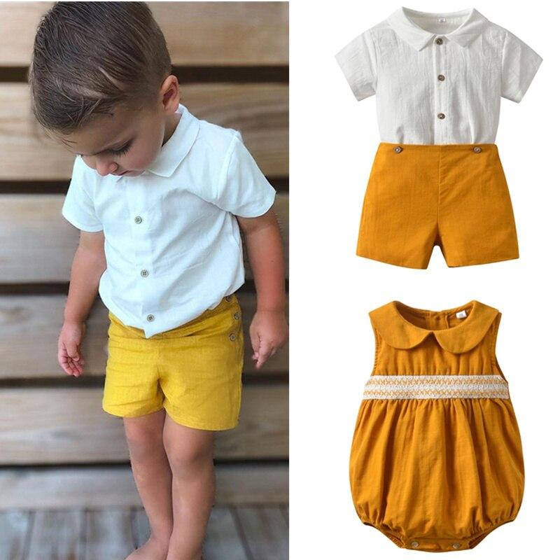 ملابس شقيق للطفل الاسباني 2021 ملابس مطابقة لحديثي الولادة رومبير سالوبيت للاطفال ملابس فضفاضة للاطفال بدلات الاولاد
