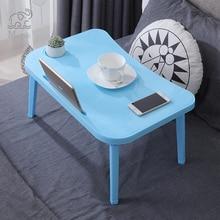 Cukierki kolor łóżko komputer biurko sypialnia składany stolik na Laptop Sofa łóżeczko blat stołu dla Notebook pokoju wieloosobowym studia stół biurko