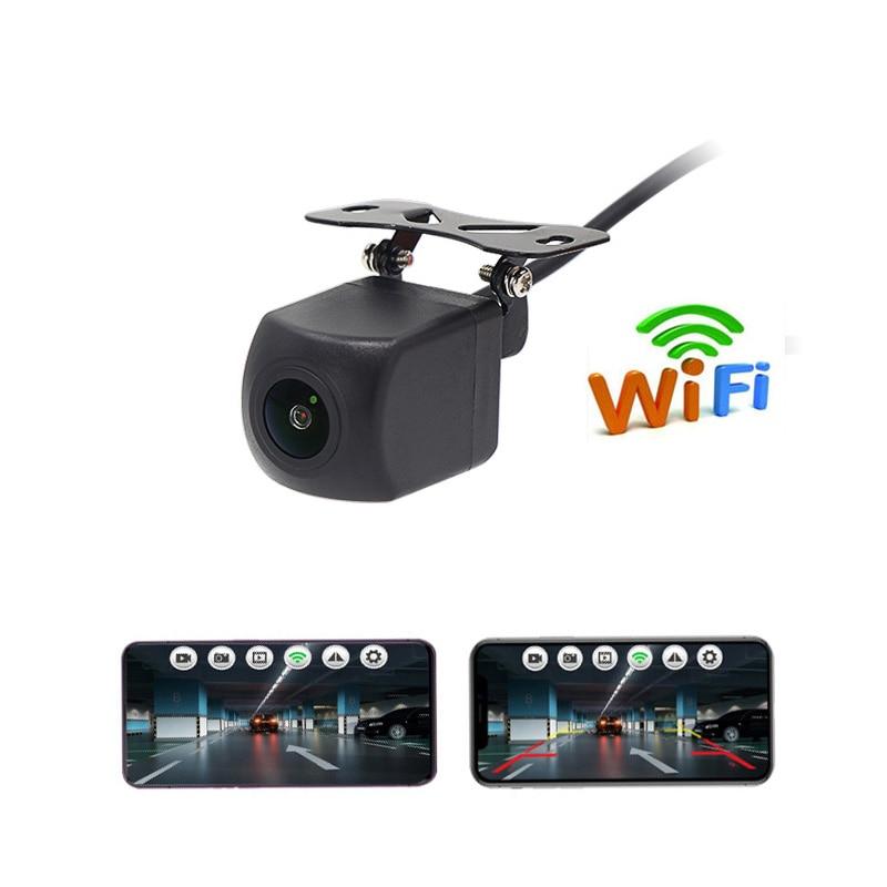 Rear View Camera Wifi for Car Monitor System Full HD Night Vision  Video Rcorder Waterproof Backup Parking Reversing Dashcam 12V