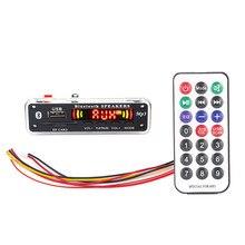 ARuiMei sans fil Bluetooth 5V/12V MP3 WMA carte décodeur Module Audio prise en charge USB SD AUX FM Module Audio Radio pour accessoire de voiture