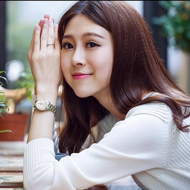 Relogio Feminino CARNIVAL Brand Luxury Women Mechanical Watch Ladies Waterproof Crystal Sapphire Automatic Wristwatch Clock 2021 enlarge
