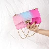 fashion women designer bag shoulder bag pvc messenger bag chain handbag crossbody bags bag for women 2020