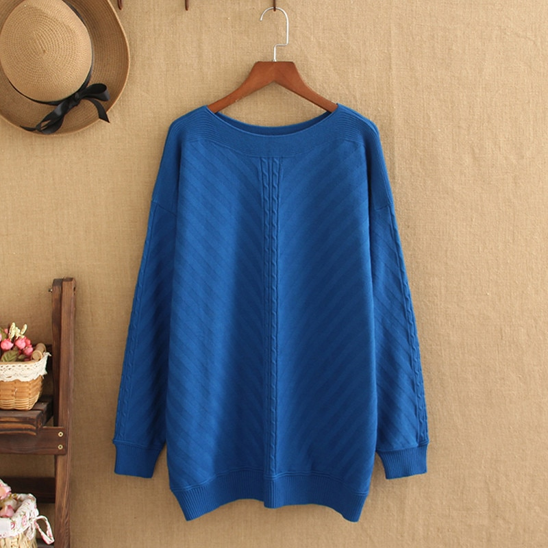 Plus size sweater for women large size 220 pounds of fatlady autumn and winter high-Quality Turtleneck Sweater Plus Size Sweater