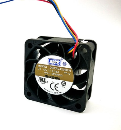 Voor Avc DBTA0420B2H P026 Server Koelventilator Dc 12V 0.38A 40X40X20Mm 4-Draads