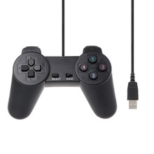 USB 2.0 Gamepad Gaming Joystick Wired Game Controller For Laptop Computer PC C7AB