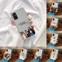pretty little liars pll tv show phone case transparent for oneplus meizu meitu m 7 8 9 16 17 t pro xs moible bag
