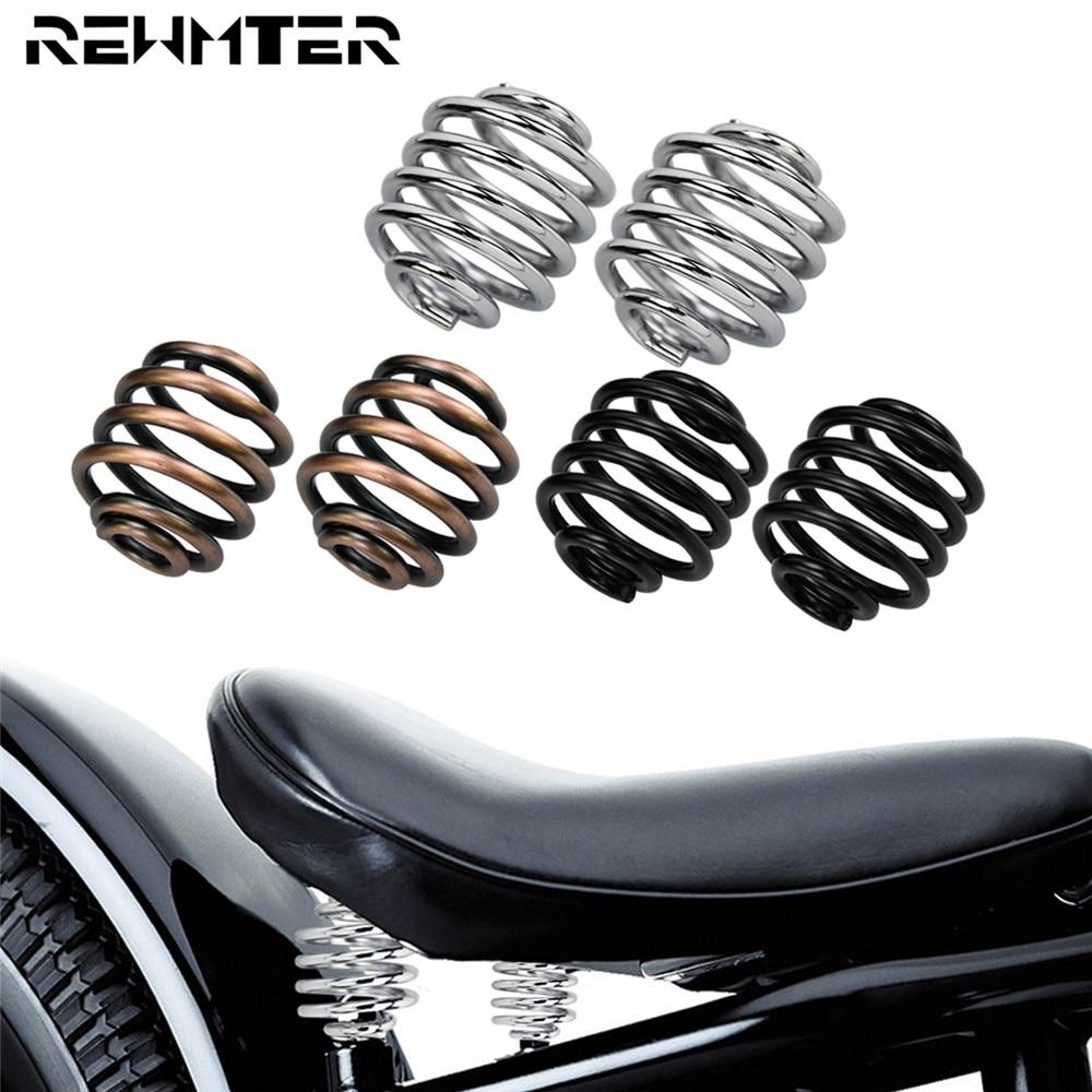 Крепление седла для мотоцикла, пружины для Harley Bobber Softail XL 883 1200 Sportster Touring Road King Dyna