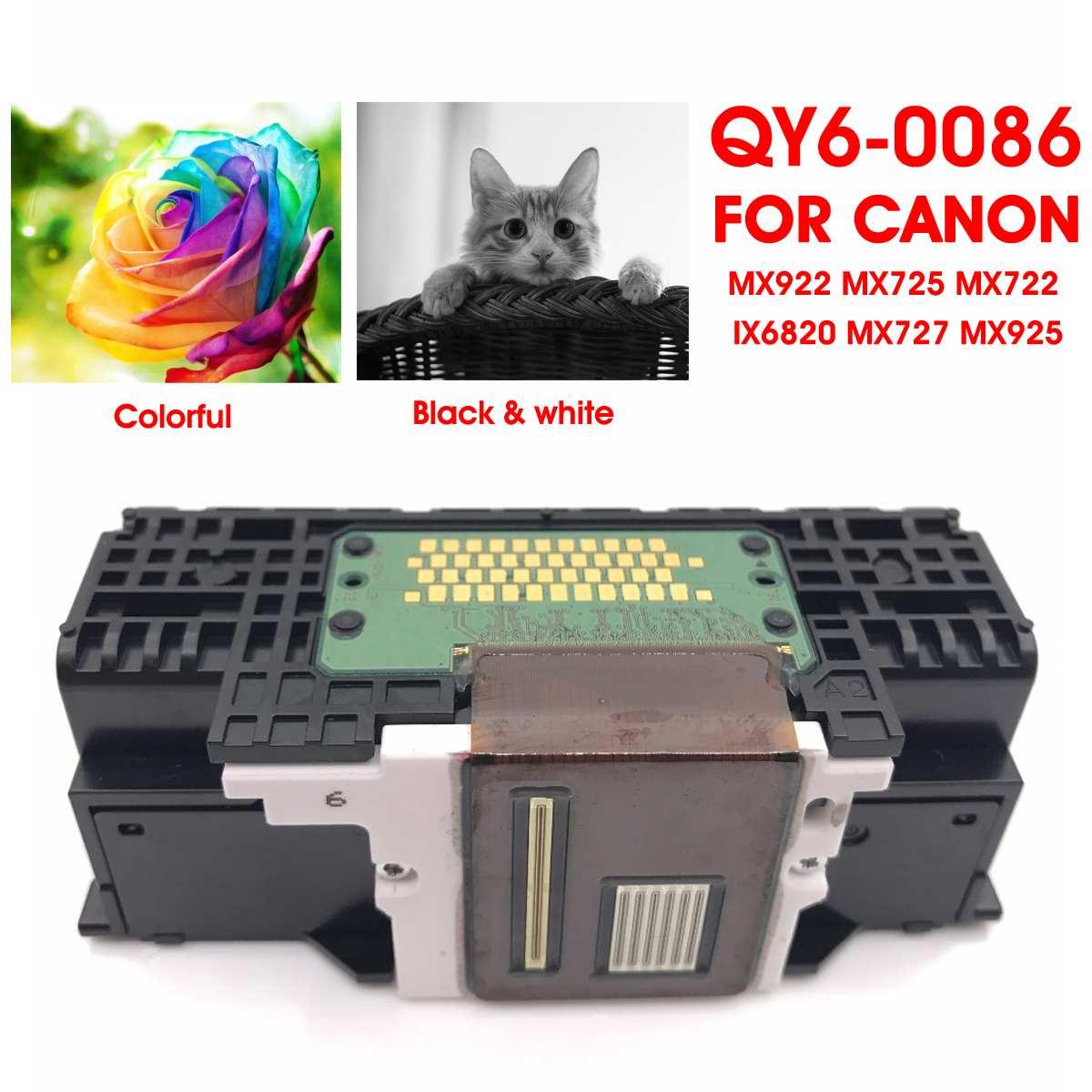 LEORY QY6-0086 cabezal impresora cabeza de impresión Printerhead piezas de la impresora Canon MX922 MX725 MX722 IX6820 MX727 MX925