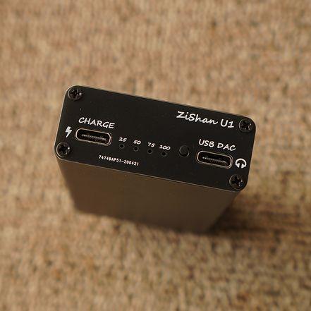 Zishan-جهاز فك ترميز محمول U1 HIFI من النوع C USB DAC ES9038Q2M ، شاحن سريع 4200 مللي أمبير ، XMOS