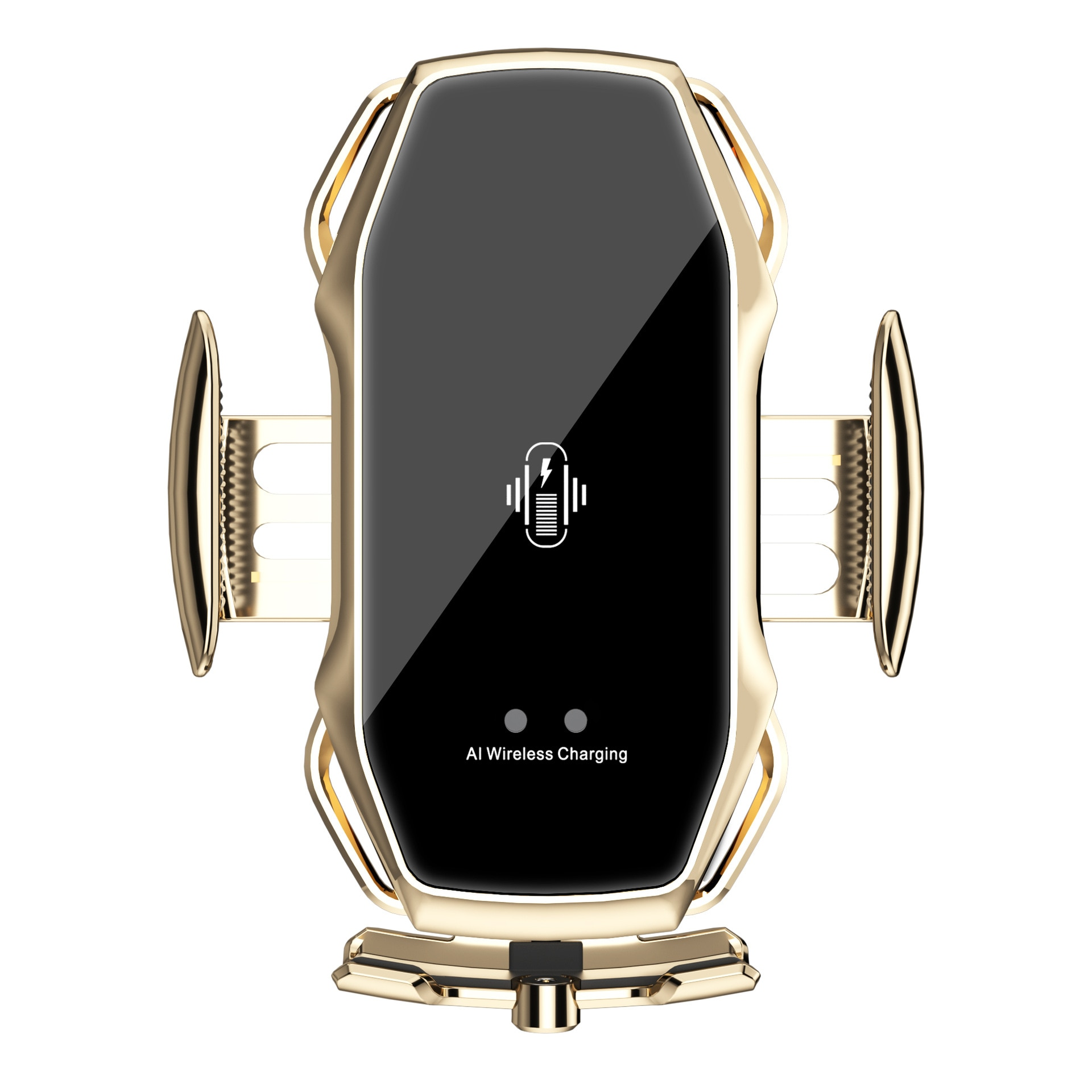 ماجيك كليب A5S حامل هاتف السيارة اللاسلكية شحن موبايل جبل العالمي المغناطيسي الأشعة تحت الحمراء التعريفي حامل هاتف