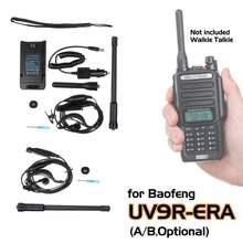 Baofeng UV9R-ERA  Walkie Talkie Professional Parts Accessories Antenna Earpiece Screwdriver Car Charger Handstrap Li-ion Battery