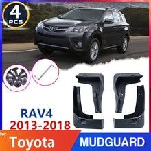Pour Toyota RAV4 RAV 4 XA40 40 2013 ~ 2018 garde-boue de voiture 2014 2015 2016 2017 garde-boue de pneu garde-boue garde-boue accessoires