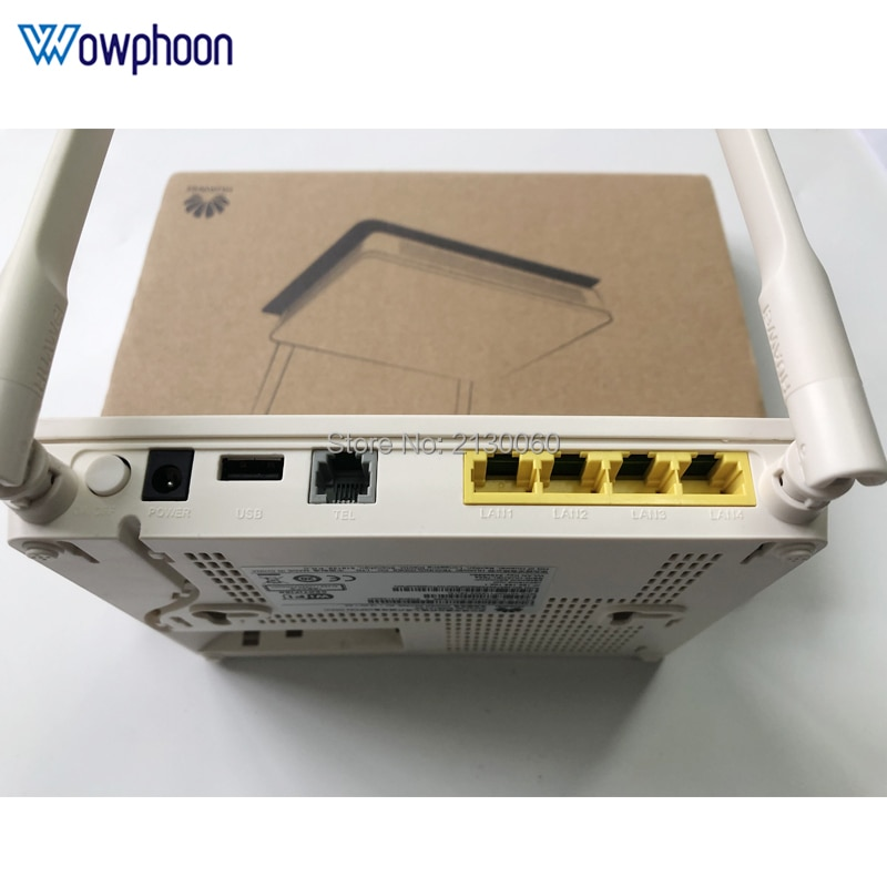SC UPC سعر الجملة 5 قطعة هواوي 5Dbi EG8141A5 gpon ont onu 1GE + 3FE + واي فاي مودم ، 100% البرامج الثابتة الإنجليزية الجديدة