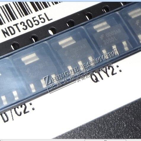 100% новый и оригинальный NDT3055L 3055L 60V 4A СОТ-223