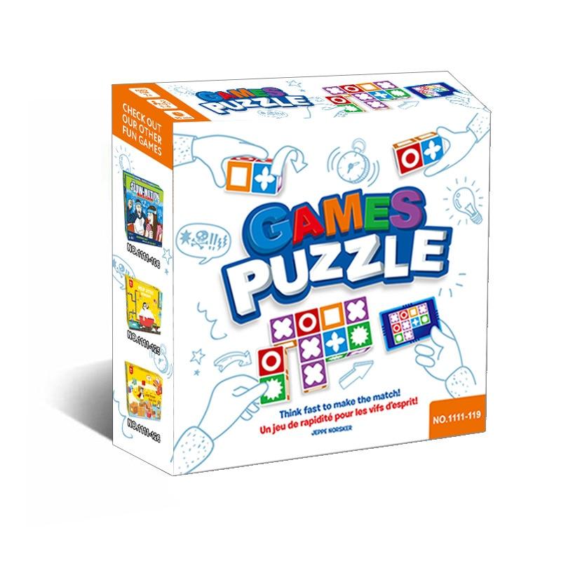 Лидер продаж, детская настольная игра с логическим мышлением, пазл для семейвечерние, игры для детей, интерактивные Обучающие игрушки