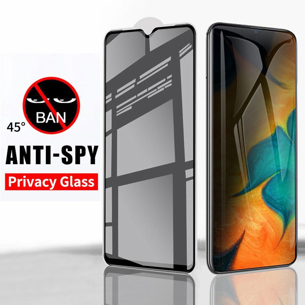 Tempered Glass Privacy Film Screen Protector for Samsung Galaxy A10 A90 A30 M30 Mobile Phone Parts O