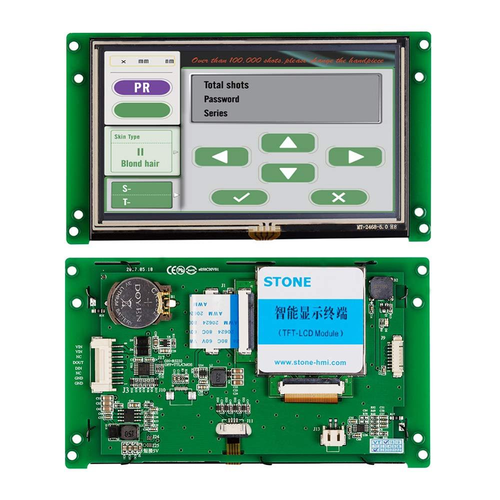 5 5 inch 2k lcd module lcd screen display and hdmi mipi driver board replacement for wanhao duplicator 7 3d printer vr glass Intelligent TFT  LCD 5 Inch Touch Screen Display with Controller Board+CPU+Driver for Smart Home