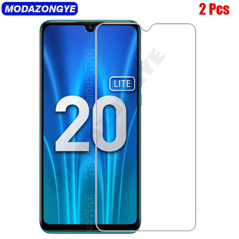 2 pçs vidro temperado honra 20 s protetor de tela para huawei honra 20 s MAR LX1H MAR LX1 honor20s vidro honra 20 película protetora Protetores de tela de telefone    -
