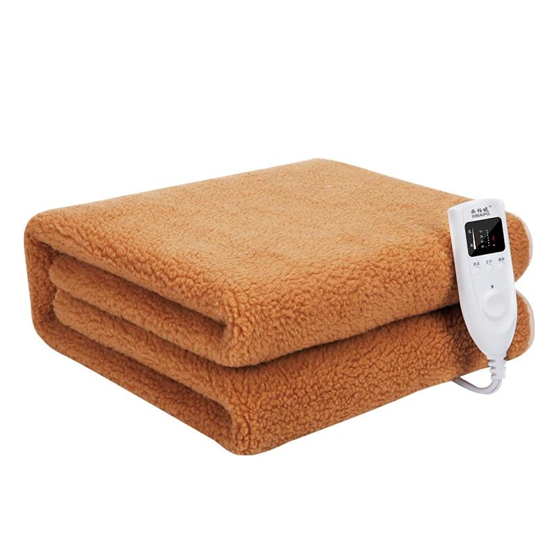 Manta de calefacción doble individual, gruesa, calentador de Cama grande, Manta de...