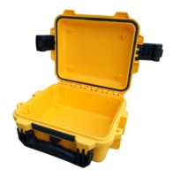 Tricases חדש מגיע IP67 עמיד למים עמיד הלם קשיח PP palstic באיכות גבוהה קטן חכם שעונים מקרי M2050