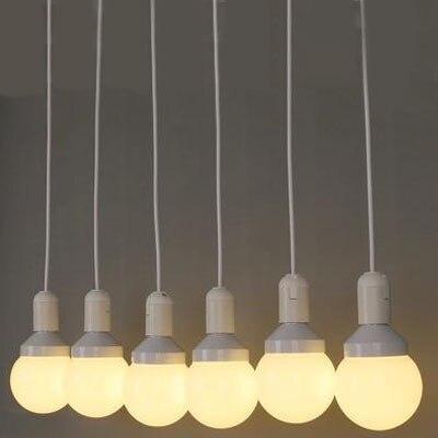 Lámpara colgante moderna Led para techo, lámpara colgante moderna Vintage para Bar, restaurante, habitaciones, centro comercial E27, luminaria colgante