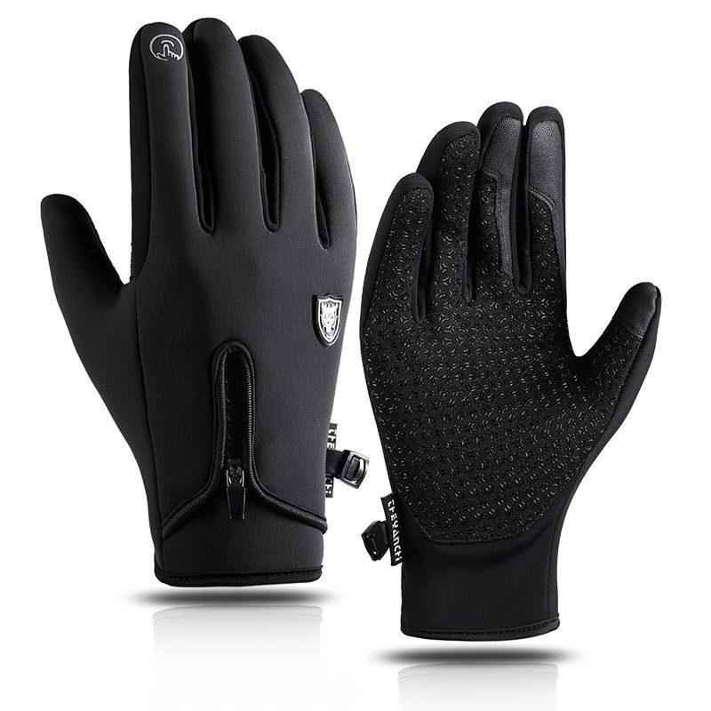 Touchscreen Winter Warm Cycling Gloves Windproof Outdoor Sport Ski Gloves For Bike Bicycle Scooter M
