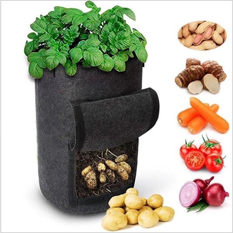 Садовые мешки для выращивания растений jardin, садовая биоразлагаемая Нетканая ткань jardin, садовая сумка для выращивания овощей, картофеля