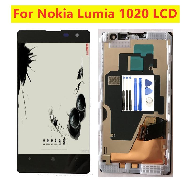 Pantalla LCD de 4,5 pulgadas para móvil, conjunto del Sensor de pantalla...