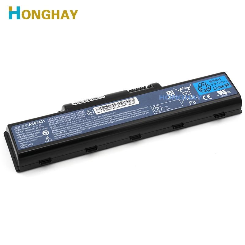 HONGHAY Japonês AS07A31 Celular Bateria para Notebook Acer Aspire 2930G 4740G 5738G 4930 5735 5740 AS07A32 AS07A41 AS07A42 AS07A51 AS07A52