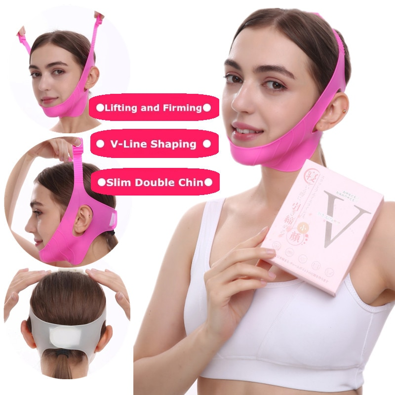 7 Type Triangular Anti-snoring Belt With Mouth Breathing Posture Correction For Women Men Sleep Firming Lifting Sleep Aid Tool