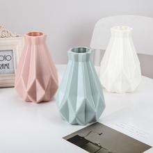 Vases en plastique incassables Vase de Pot de fleur Vase de salle détude moderne couloir de décoration de mariage Vase de décoration de maison