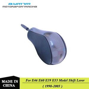 Car Gun color Gear shift knob For BMW E39 E46 E60 3 5 Series