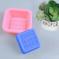 25pcs multifunctional silicone soap molds for soap making oval square cake mold silicone soap mould handmade soap diy tools gift