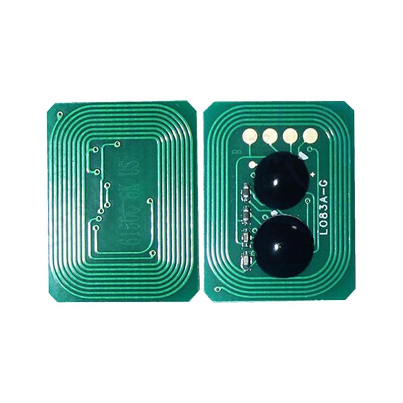 Free shipping Hot sale 8K 6K toner chip for oki C5650 C5750 cartridge reset chip 43865708 43865707 43865706 43865705
