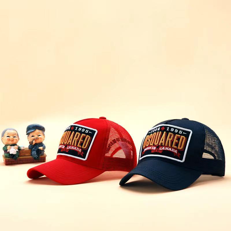 2021 DSQICOND2 высококачественные сетчатые Бейсболки хлопок буквы DSQ кепка мужская женская дизайнерская шапка с вышивкой бейсболка кепка папа